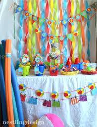 Beach Ball Decoration Ideas Beach Ball Decorations Beach Ball Party Table Decorations 25