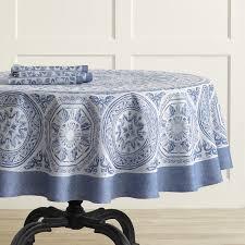 tehla jacquard tablecloth round 70