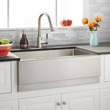 Gorgeous Stainless Steel Farmhouse Sink In Kitchen Eclectic With Stainless Steel Farmhouse Kitchen Sinks