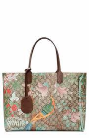 gucci purse. gucci tian gg supreme large canvas tote purse !