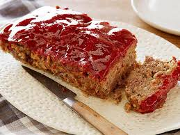 Paint a liberal glaze of barbecue sauce over the entire loaf. Good Eats Meatloaf Recipe Alton Brown Food Network