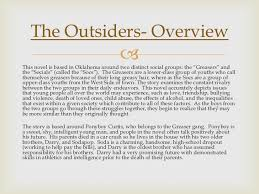 book club final the outsiders