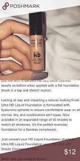 Make Up Forever Ultra Hd Foundation New Color Y415 Made