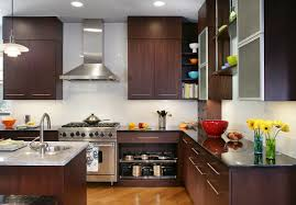 Black Walnut Kitchen Cabinets Modern Walnut Kitchen Cabinets Monsterlune