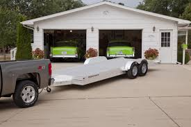 this is a featherlite open car trailer model this trailer this is a featherlite open car trailer model 3110 this trailer features an all