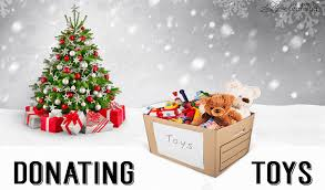 Donate toys for christmas