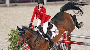 Jessica Springsteen wins silver ...