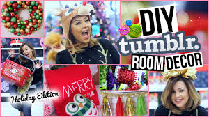 diy tumblr room decor affordable christmas decorations youtube