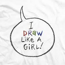 How To Draw Girl Shirts Jill Thompson Draw Like A Girl Word Balloon T Shirt