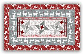 exclusive reindeer table runner wall hanging pattern review
