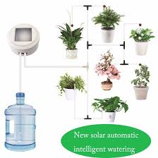 Solar Energy Intelligent Timing Garden <b>Automatic Watering Device</b> ...