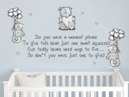 wall decals tatty teddy cute wall quote vinyl decal sticker baby kids wall stickers was listed for r229 99 on 7 oct at 13 17 by eyecandy1 in pretoria  on vinyl wall art quotes south africa with wall decals tatty teddy cute wall quote vinyl decal sticker baby