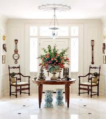 white foyer table. Large Size Of Dining Room Decorations:foyer Entry Table Round Foyer Decor White E