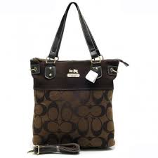 Coach Legacy In Signature Medium Coffee Totes APZ