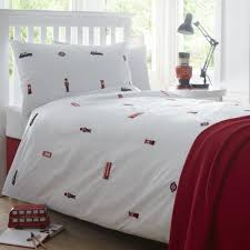 london childrens duvet cover collection in 200tc organic cotton