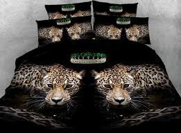 leopard bedding set luxury comforter bedspread bed sheet sheets duvet cover animal print super king queen size full twin comforter sets navy blue