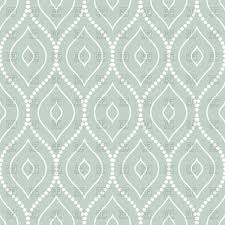 Seamless Abstract Pattern On Light Blue Background Stock Vector Image