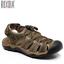 ROXDIA <b>New</b> Fashion <b>Summer</b> Beach Breathable <b>Men Sandals</b> ...