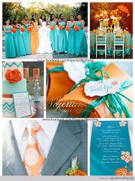 Nigerian Wedding Aquamarine And Orange Wedding Color Scheme 1 Oh