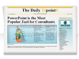 Newspaper Powerpoint Template Unique Editable PowerPoint Newspapers Template