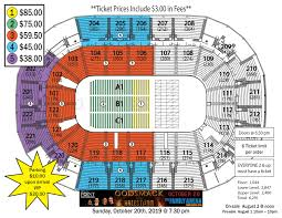 Joe Louis Arena Seating Chart With Rows Godsmack With Halestorm