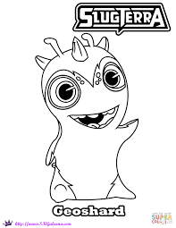 Slugterra Coloring Pages Free Coloring Pages