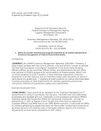 Inventory Specialist Resume Sample Resume For Your Job Application