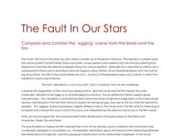 x a grade higher and national english folio and critical higher english sample critical essay on the novel the fault in our stars by