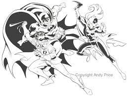 coloring page batman kids 800x602 batman family batman robin bat in andy 39s