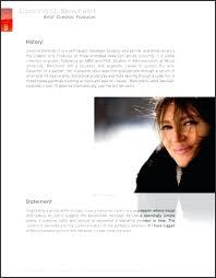 work bio template makeup artist biography exles simple exle 2