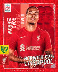 """Liverpool FC on Twitter: """"𝐈𝐓'𝐒 𝐌𝐀𝐓𝐂𝐇𝐃𝐀𝐘! 😍 We're back in  @premierleague action this evening... UP THE REDS! ✊🔴 #NORLIV… """""""