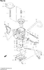 2003 suzuki vinson 4wd lt a500f oem parts babbitts suzuki carburetor