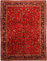 red persian rug style