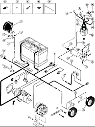 Car alternator wiring diagram