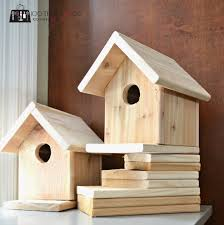 this birdhouse is another traditional style it too would be a good fit for a beginner carpenter or even as a small family project