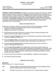 Cv Template For Architects Architect Resume Resume Cv Template