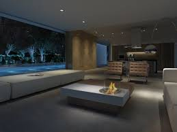 Indoor Coffee Table With Fire Pit Adorable Indoor Fire Pit Coffee Table For Modern Luxury Living