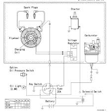 small engine ignition switch wiring diagram automotive parts
