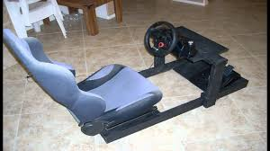 diy gran turismo logitech steering wheel stand pit racing rig part 2 you