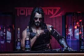 Video Game Cyberpunk 2077 Keanu Reeves ...