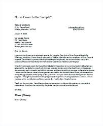 Sample Cover Letter Nurse Collection Of Solutions Cover Letter