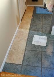 installing the tiles