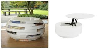 Awesome Eurostyle Amel Round Lift Top Coffee Table Vs. Disc Coffee Table By  Ecofirstart Pictures Gallery