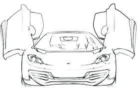 Coloring Pages Ferrari Spider Coloring Pages Collection Of
