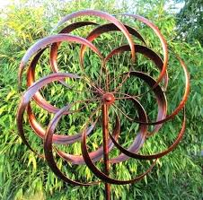how to make kinetic garden wind spinners art spinner spin instructions metal elegant sculpture for your