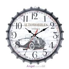shabby chic wall clock home garden room antique decor wall clocks decoration clock shabby chic kitchen