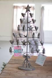 Grey Christmas Tree Rustic Grey Christmas Card Tree