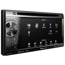 pioneer 2 din car stereo. double din screen pioneer avh-2400bt 2 car stereo