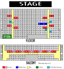 Grand Sierra Theater Seating Chart General Information Scera