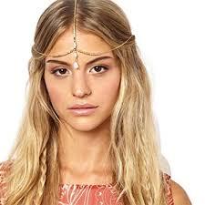 unijew gold head chain for women white bead indian african head chain head chains jewelry head